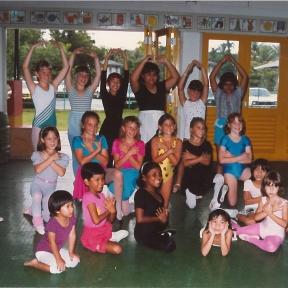 joan dancing childhood