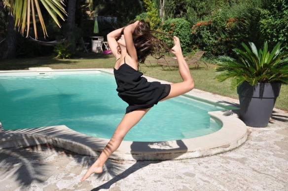 Quand je danse, j'oublie mes mauvais moments et je me sens libre.