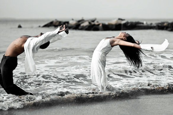 ocean dancing